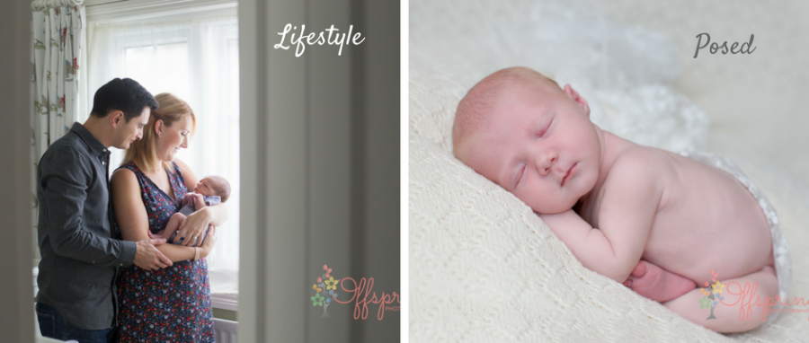 Lifestyle and newborn photography