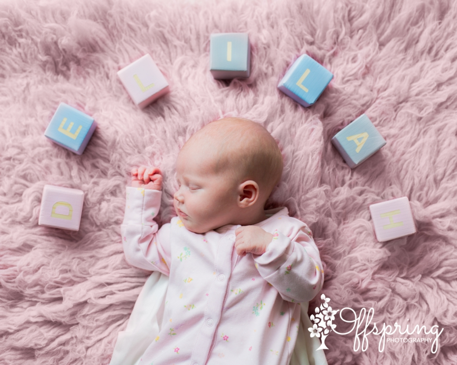 Newborn baby girl Delilah